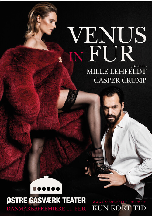 A man with a thousand faces. Seductive. Images of Venus in Fur